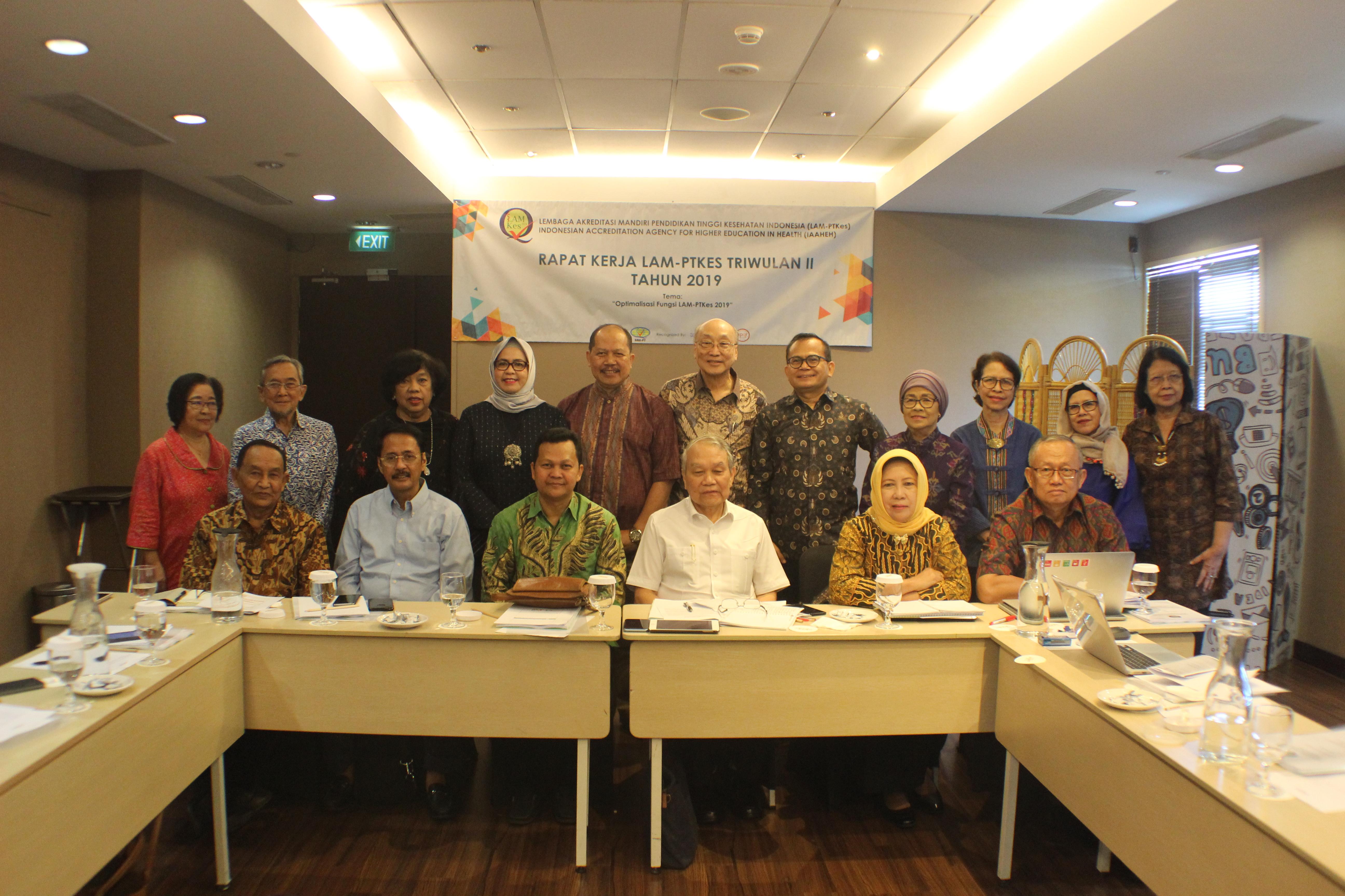 Rapat Kerja Triwulan II 2019