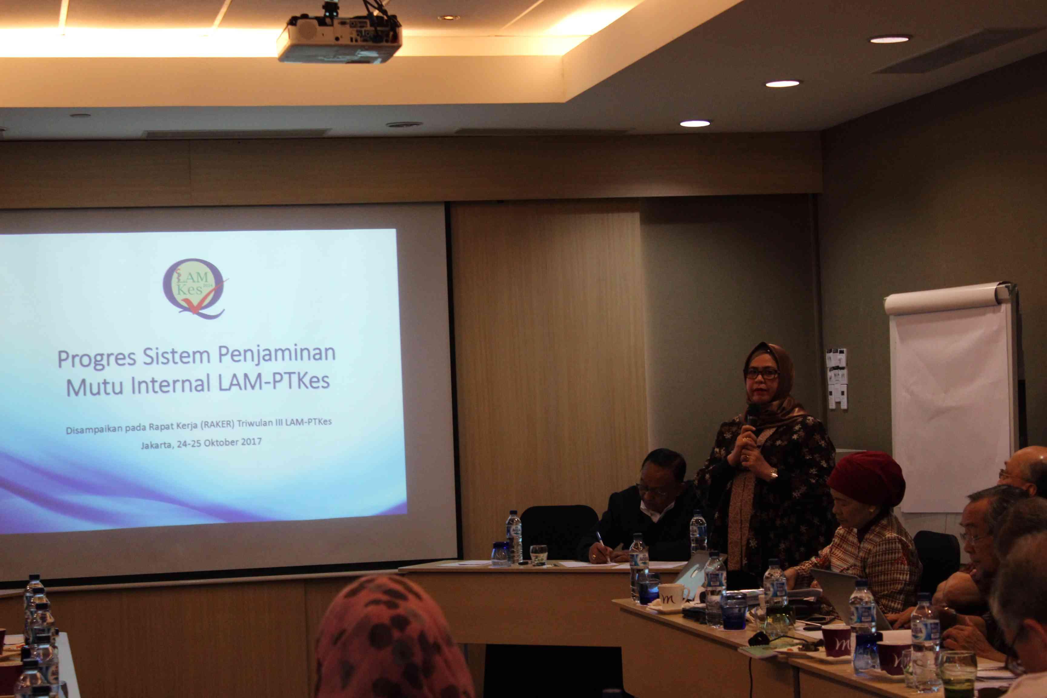 Rapat Kerja Triwulan III, 24-25 Oktober 2017 di Hotel Mercure Jakarta Simatupang